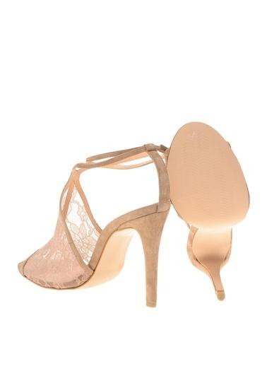 House Of Camellia Topuklu Ayakkabı Bej